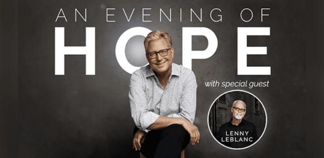 """Don Moen Announces """"An Evening Of Hope"""" Livestream Event"""
