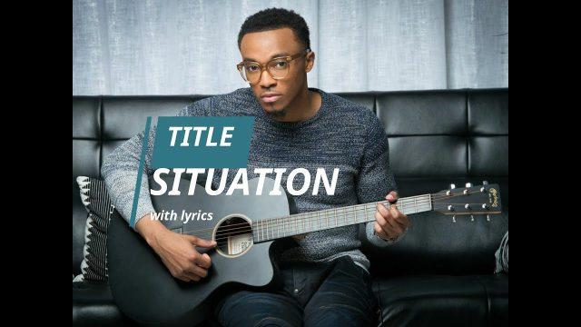 Jonathan McReynolds - Situation Lyrics