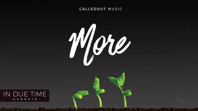 [Video] More - CalledOut Music