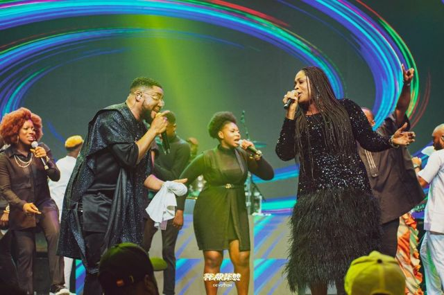 Major Highlight at Tim Godfrey Fearless 2021 Concert (Pictures & Video)