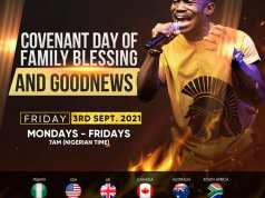 NSPPD 3rd September 2021 Live With Pastor Jerry Eze