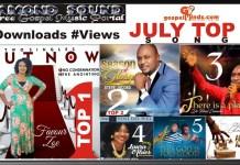 July Top 6 Songs
