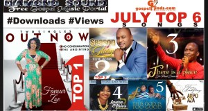 July Top 6 Songs