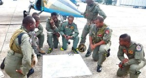 NAF Trains Officers