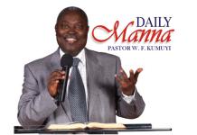Pastor W. F. Kumuyi DCLM