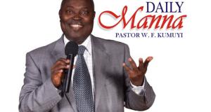 Pastor W. F. Kumuyi DCLM Daily Manna