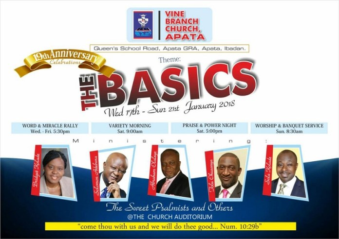 Vine Branch Church Apata