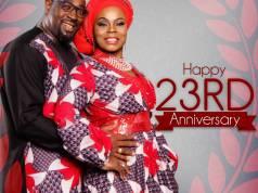 Isabella Melodies celebrate 23rd wedding anniversary
