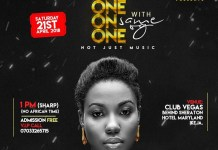 Music concert - ONE ON ONE with SAME OG