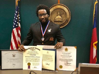 Sonnie Badu Georgia Honorary Citizen