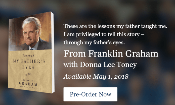 Franklin Graham to Launch 'Through My Father Eye