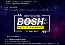St. Harmony Live Recording BOSH 2018