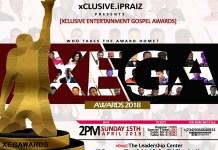 Xclusive Entertainment Gospel Award (XEGA) 2018