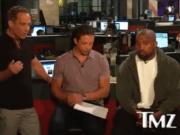 Kanye West Challenges TMZs Harvey Levin