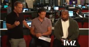 Kanye West Challenges TMZs Harvey Levin
