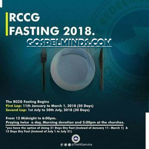 RCCG 21 Days Fasting and Prayer