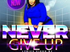 Bolaafola Lyrics Video 'Never Give Up'