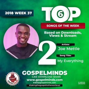 Joe Mettle – My Everything NO 2