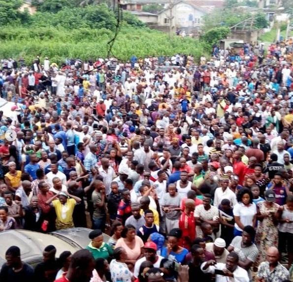 Oyo govt demolished Yinka Ayefele N800m Music House