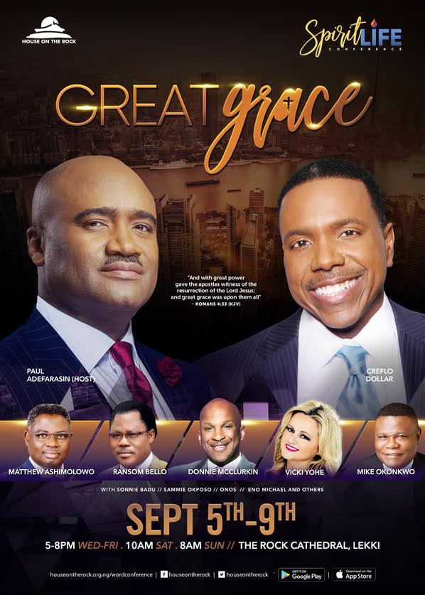 The Spirit Life Conference with Pastor Paul Adefarasin