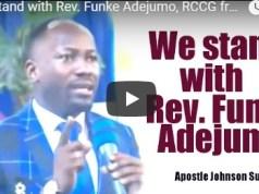 We stand with Rev. Funke Adejumo