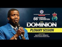 Day 3 Plenary Session 2 RCCG 66th Annual Convention 2018