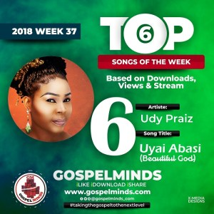 Udy Praiz – Uyai Abasi (Beautiful God) NO 6