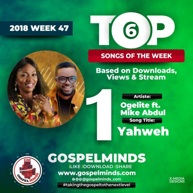 No. 1 = Ogelite – Yahweh Ft. Mike Abdul