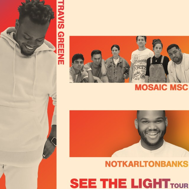 Travis Greene, Mosiac in Concert Your perfect gift this holiday season!