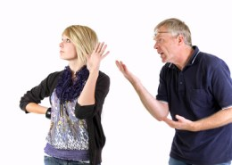Father Daughter Argue