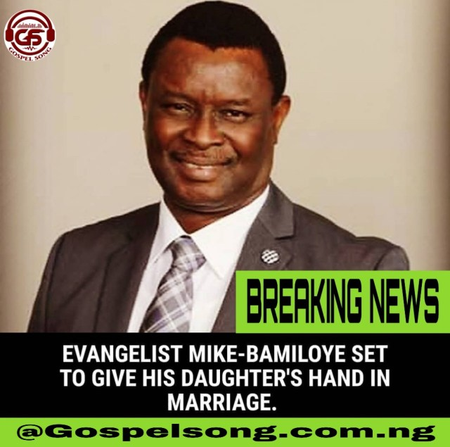 """The Founder of """"Mount Zion's Film"""" Mike Bamiloye's only daughter is about to wed. SEE WHAT HAPPENED:"""