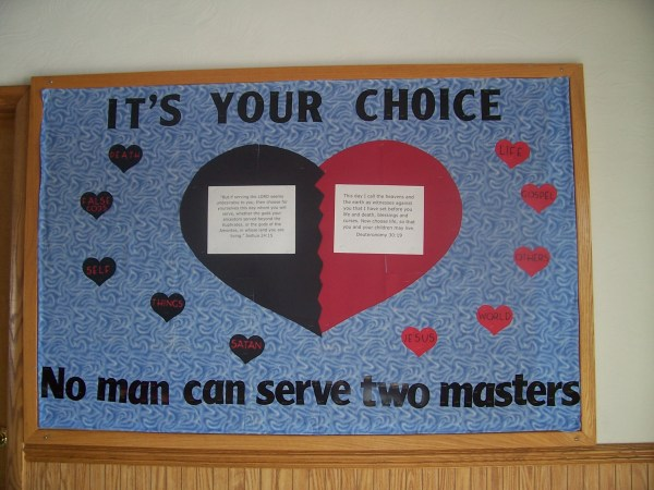 February Bulletin Board Winner Philipsburg Gospel