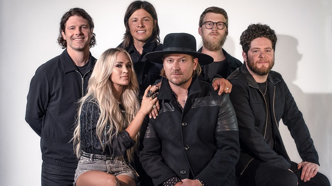 NEEDTOBREATHE To Perform With Carrie Underwood At 2021 CMT Music Awards.