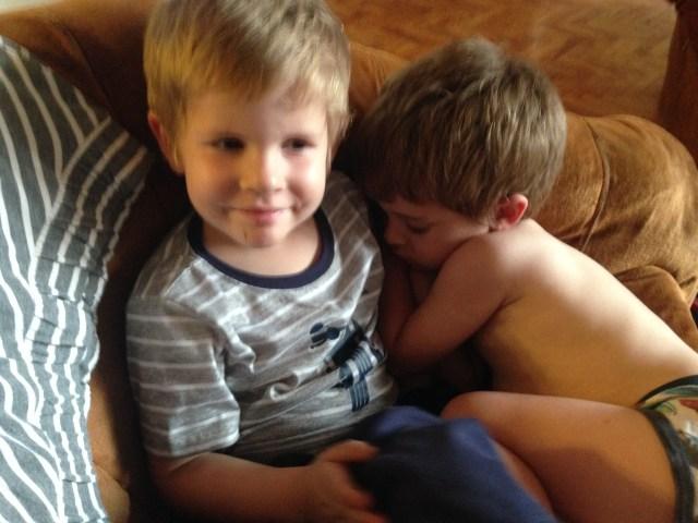 11.12-falling asleep on brother