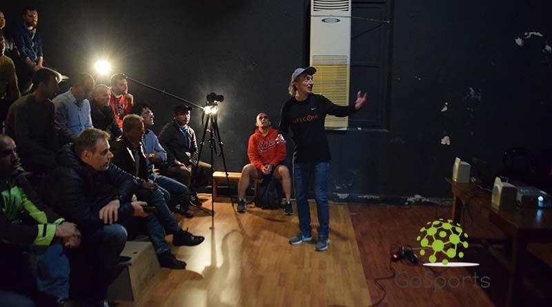 Μια ξεχωριστή εκδήλωση από τον Σύλλογο Δρομέων με την παρουσία του Υπερμαραθωνοδρόμου – Σπαρταθλητή, κ. Χρήστου Κατσάνου