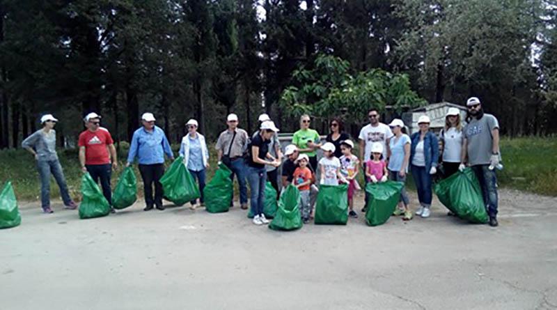 Μήνυμα εθελοντισμού και προστασίας του Λόφου Περάνθης στο φετινό Let's Do It από το Δήμο Αρταίων