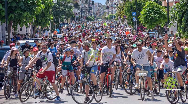 Πλήθος κόσμου στην 11η Ποδηλατοπορεία στην Πρέβεζα(φώτο)