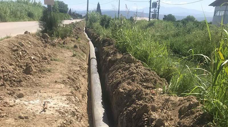 Αντικαταστάθηκαν σωλήνες ύδρευσης από αμίαντο σε κεντρικό αγωγό του Συνδέσμου Ύδρευσης Άρτας από Κωστακιούς προς Γαβριά