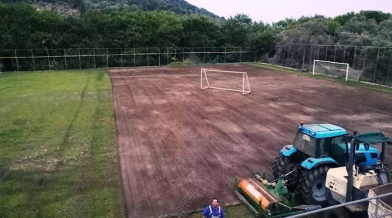 Τέλος του καλοκαιριού θα είναι έτοιμο το γήπεδο Νυδριού!