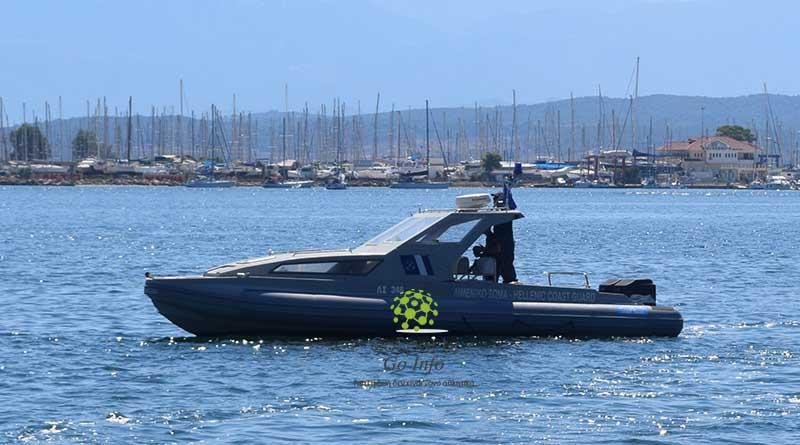 Παροχή συνδρομής σε Ι/Φ σκάφος στην Κέρκυρα