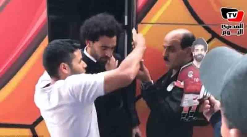 Δεν ακουμπάς τον ώμο του Σαλάχ ούτε για selfie! (vid)