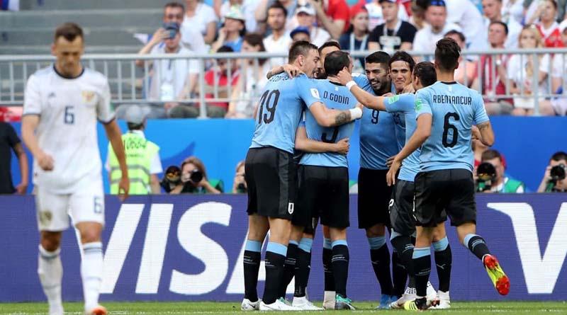 Πρώτη και καλύτερη η Ουρουγουάη.