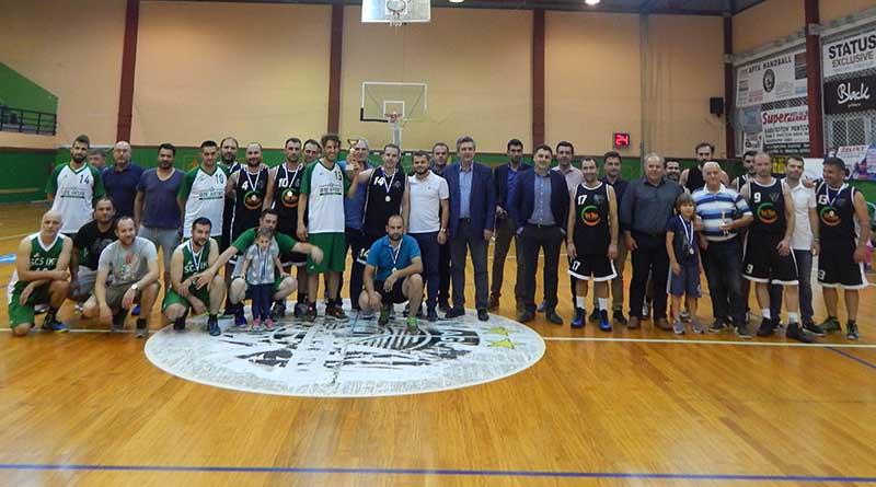 Οι Μηχανικοί νικητές στο 1ο Εργασιακό Πρωτάθλημα Μπάσκετ που διοργάνωσε ο Δήμος Αρταίων