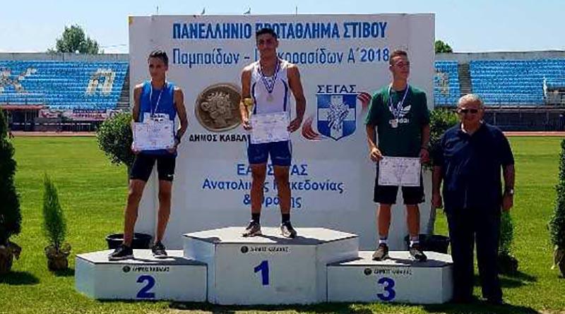 Χρυσό μετάλλιο ο Φυτόπουλος στο Πανελλήνιο Πρωτάθλημα ΠΠ/ΠΚΑ'