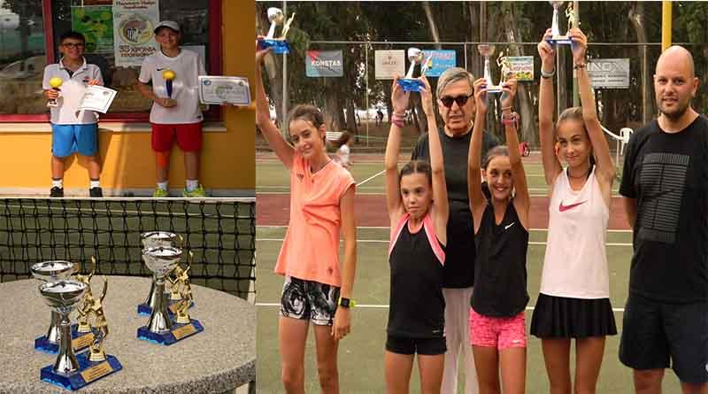 abcb06dae60 Οι νικητές στο Πανελλαδικό πρωτάθλημα τένις Ε2 κατηγορίας 12 ετών ...