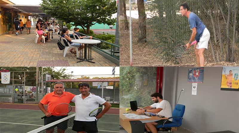 Ξεκίνησε το 3ο Ενωσιακό Πρωτάθλημα Τένις Βετεράνων Β. Ελλάδας ανδρών – γυναικών