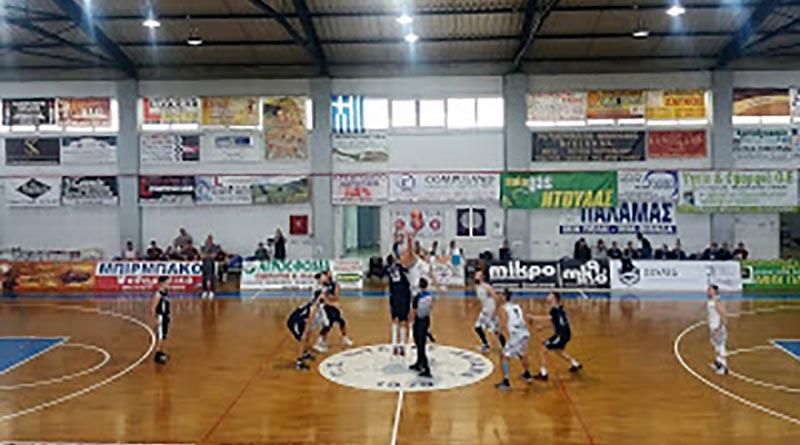 Νίκη για τους Τιτάνες Παλαμά με 84-77 επί του Εύαθλου