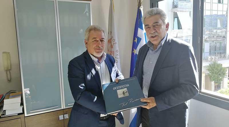 Ηγουμενίτσα: Επίσκεψη του Πρύτανη του Πανεπιστημίου Ιωαννίνων