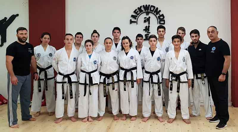 Προετοιμασία της Ελληνικής ομάδας taekwondo για το Πανευρωπαϊκό πρωτάθλημα του 2019