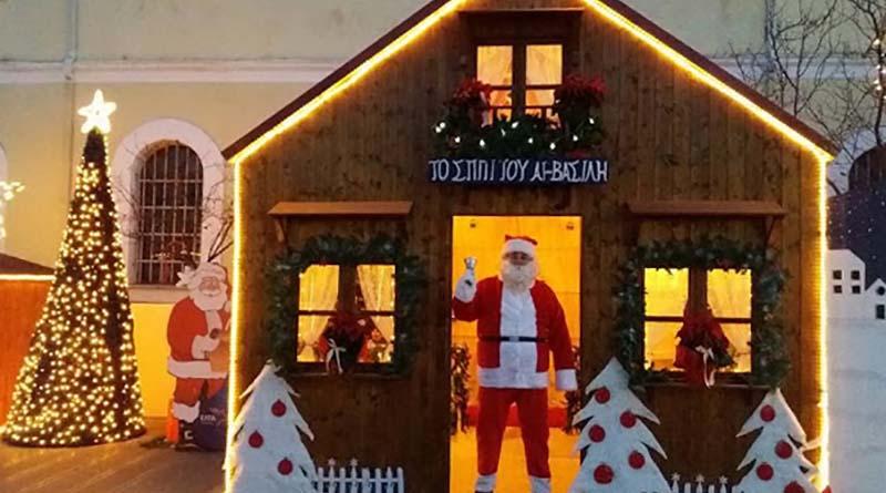 Ξεκινούν τη Δευτέρα 2 Δεκεμβρίουοιεργασίες στο μικρό πάρκινγκ για την εγκατάσταση του Χριστουγεννιάτικου Χωριού.